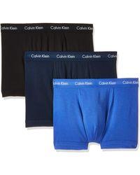 Calvin Klein Shorts 3er Pack - Cotton - Blau