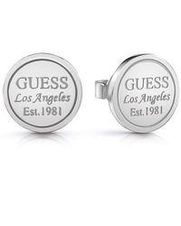 Guess Stud Earrings Ube28034 - Metallic