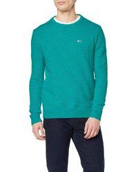 Tommy Hilfiger TJM Textured Sweater Suéter - Verde