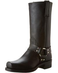 Frye Harness 12r Boot - Black