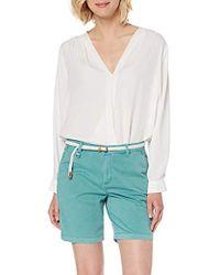 Esprit Pantalones Cortos para Mujer - Verde