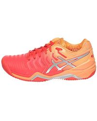 Asics Rubber Gel resolution 7 Clay Tennis Shoes Lyst
