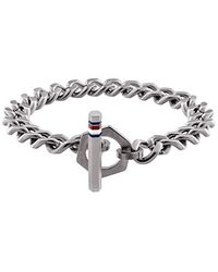 Tommy Hilfiger Jewelry Tira de Pulseras Hombre acero inoxidable - 2790164 - Negro
