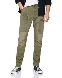 G-Star RAW Powel 3d Straight Tapered Colored Fit Jeans - Green