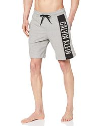 Calvin Klein Medium Jersey Short Bas De Pyjama - Gris