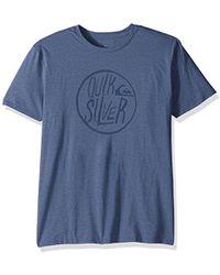 Quiksilver Kool Shapes Mod T-shirt - Blue
