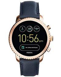 Fossil Compatibilité iOS & Android - Coffret montre avec son - Multicolore