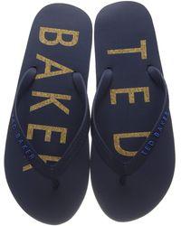 Ted Baker Donel Flip-flop - Blue
