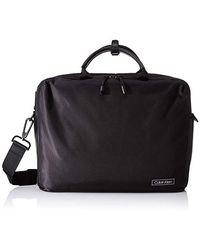 Calvin Klein Revealed Laptop Bag, Pochettes - Noir