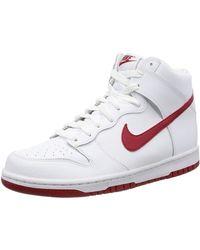 Nike Dunk Hi - Bianco