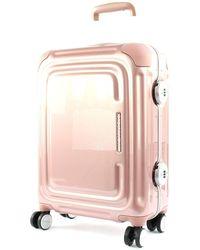 Mandarina Duck C-Frame Trolley S Rose Metal - Rosa