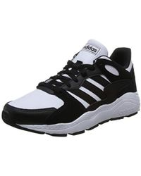 f5067689a05 S Crazychaos Trainers Runners Lace Up Padded - Black