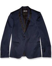 Just Cavalli S Fashion Jacket - Blue
