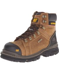 Caterpillar - Mens Hauler 6 Inch Waterproof Comp Toe Work Boot Industrial And Construction Shoes - Lyst