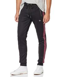 True Religion Pant Stripe Uni Sports - Black
