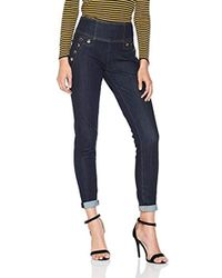 Guess - Curve X High Button Slim Jeans - Lyst