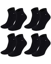 Tommy Hilfiger - Flag Casual Business Quarter Socks Pack Of 4 - Lyst