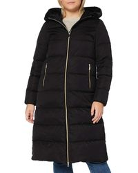 Geox W Tabelya Faux Fur Coat - Black