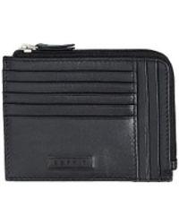 Esprit Foc Card Zip Holder Black - Nero