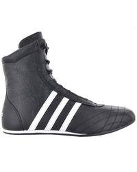 adidas Prajna Hi 382158 Man Shoe Boots Trainers Boxing Martial Arts - Black