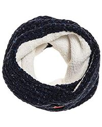 Superdry - Clarrie Stitch Snood Pashmina - Lyst