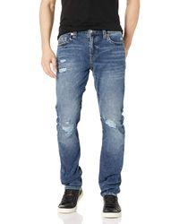 True Religion Geno Slim Leg Fit Jean - Blu