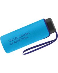 Benetton Umbrella Ultra Mini Ual - Blue
