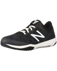 New Balance 4040v5 Turf Running Shoe - Nero