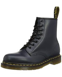 Dr. Martens - 1460 Smooth, Stivali Unisex – Adulto, Blu (1460 Smooth 59 Last Navy), 44 EU - Lyst