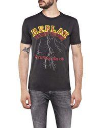 Replay - M3042 .000.22658m T-Shirt - Lyst