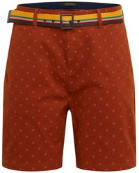 Scotch & Soda - Structured Chino Short with Mini all-Over Print Pantaloncini - Lyst