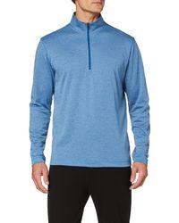 adidas UV Protection 1/4 Zip Swearshirt Jersey - Azul