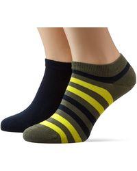 Tommy Hilfiger - Th Duo Stripe Sneaker 2p Ankle Socks - Lyst