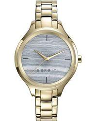 Esprit S Analogue Quartz Watch With Stainless Steel Strap Es109602003 - Metallic