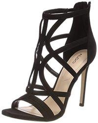 9e881834557 ALDO - Tifania Open Toe Sandals - Lyst