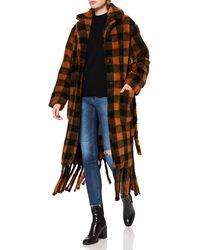Replay W7686 .000.52470 Dress Coat - Black
