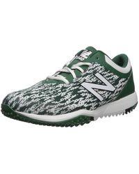New Balance 4040v5 Turf Running Shoe - Verde