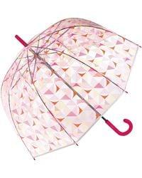 """Esprit Ombrello automatico""""Triangle"""" - Rosa"""