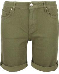S.oliver 04.899.72.7182 Hose kurz Jeans-Shorts - Gelb