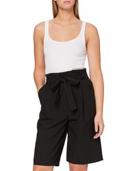 FIND Amazon Brand - Women's Culottes, Multicolour (black), 10, Label:s