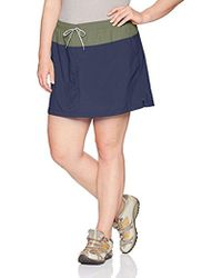 Columbia Plus Size Sandy River Skort - Blue