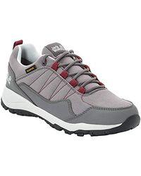 Jack Wolfskin Maze Texapore Low W Wasserdicht Rise Hiking Shoes - Gray