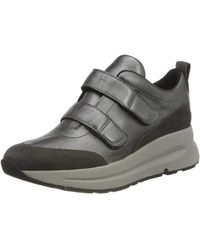 Geox D BACKSIE D Sneaker - Grau