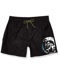 DIESEL Bmbx-wave Swim Shorts - Black