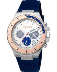 Just Cavalli Orologio Elegante JC1G139P0035 - Blu