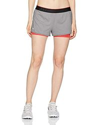 Under Armour Donna Hg Armour 2-In-1 Shorty - Bianco