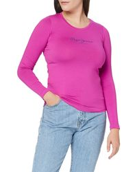Pepe Jeans New Virginia LS T-Shirt - Viola