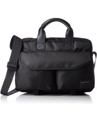DIESEL Ranks F-close Brief Briefcase - Black