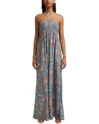 Esprit SARASA Beach Acc CVElong Dress Copricostume - Blu
