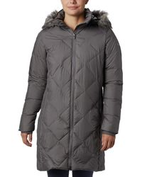 Columbia Icy Heights Ii Mid Length Down Jacket - Gray